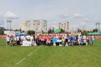 В Тамбовском районе открыли мультистадион