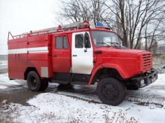 В Рассказовском районе при пожаре пострадал человек