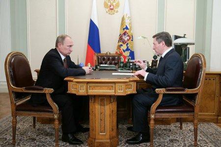 Олег Королев отчитался перед Президентом за работу в 2013 году