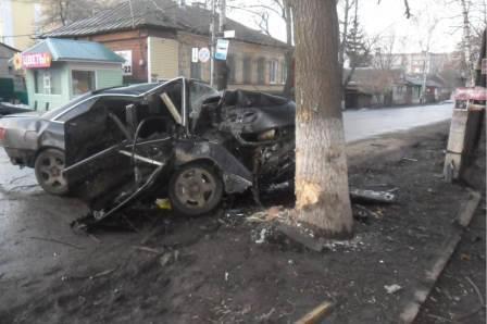 За неделю в ДТП на тамбовских дорогах погибли 3 человека
