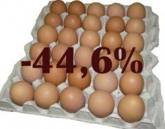 В Тамбовской области выросло производство мяса и снизилось производство яиц