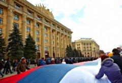 Уже 100 тысяч жителей Луганской области выступили за присоединение к России