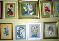 В Кирсанове состоялась выставка вышивки