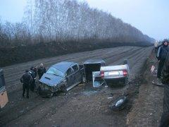 В Никифоровском районе столкнулись четыре автомобиля