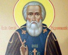 В Тамбов доставят чтимую икону преподобного Сергия Радонежского