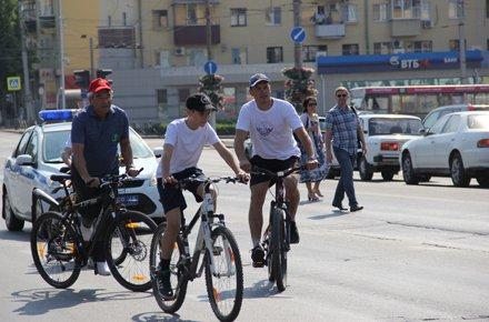Михаил Гулевский пересел на велосипед