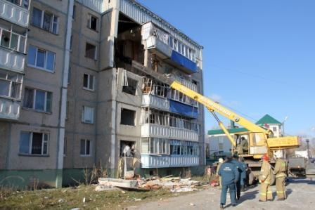 В Липецкой области пострадавшим от взрыва газа выплатят по 10 тысяч рублей