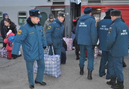 Липецкая область сегодня приняла 50 вынужденных переселенцев с Украины