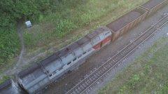 Под Тамбовом загорелся грузовой поезд, перевозивший уголь