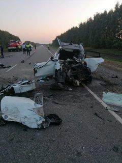 В ДТП на территории Сампурского района погибло три человека