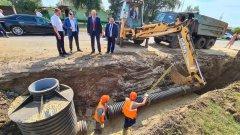 Губернатор отметил высокие темпы работ по реконструкции канализационного коллектора в Рассказово