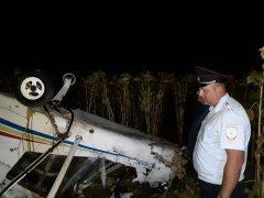 Аэроплан совершил жёсткую посадку – пилот погиб