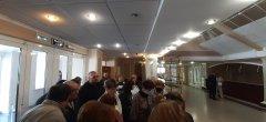 Обманутые дольщики по ул. Киквидзе, 77 «Б» вышли к администрации области