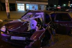 В центре Тамбова в аварии разбился 38-летний мужчина
