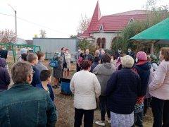 Жители Покрово-Пригородное: «Мы будем до конца защищать детскую площадку»