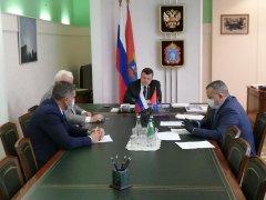 Александр Никитин проводит собеседования с руководителями муниципалитетов