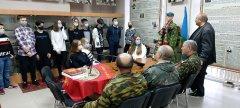 В Мичуринске состоялась памятная встреча с воинами-интернационалистами