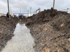На севере Тамбова произошла авария на водоводе