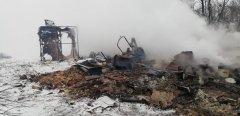 В Моршанском районе в пожаре погибла семья из четырех человек
