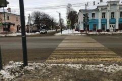 В Тамбове водитель сбил пешехода на переходе