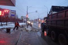 В Тамбове продолжают ликвидировать последствия снегопада