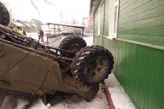 В Тамбове произошло смертельное ДТП: водитель врезался в жилой дом