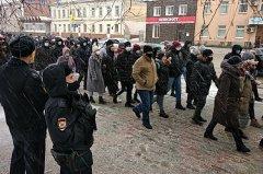 В Тамбове вновь прошла протестная акция