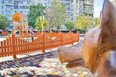 При строительстве детской площадки на Набережной выявлены признаки мошенничества