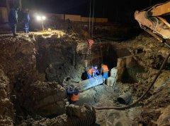 В Тамбове завершили аварийные работы на водоводе