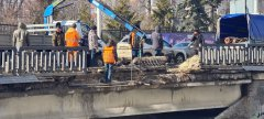В Тамбове частично обрушился мост через Студенец