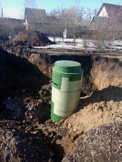 В городе Рассказово завершается реконструкция канализационного коллектора