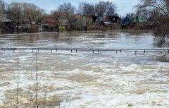 В Моршанском районе произошло подтопление жилых домов