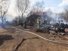 В Тамбовской области сгорело еще два дома