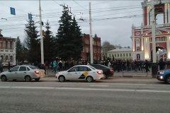 В Тамбове без происшествий прошла акция в поддержку Алексея Навального