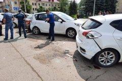 ДТП с участие 9 автомобилей произошло из-за инсульта у водителя