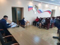 Прокурор области встретился с дольщиками дома по ул. Киквидзе, 77Б